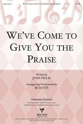 Weve Come to Give You the Praise Split Track Accompaniment CD.pdf
