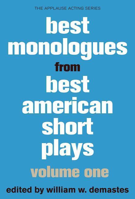 Best Monologues from Best American Short Plays als Taschenbuch