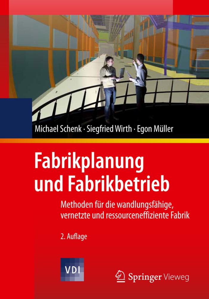 Fabrikplanung und Fabrikbetrieb als Buch (gebunden)