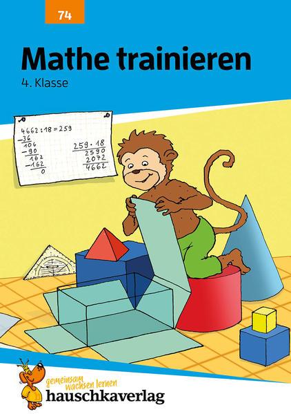 Mathe trainieren 4. Klasse als Buch (geheftet)