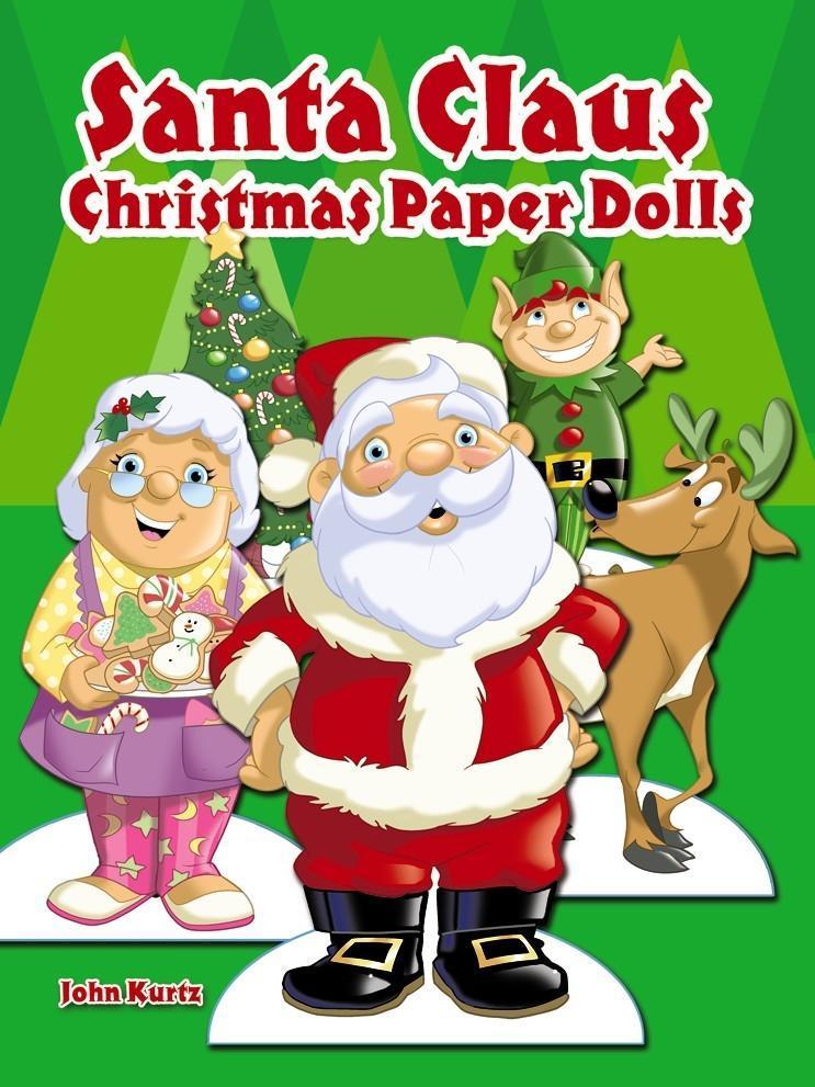 Santa Claus Christmas Paper Dolls als Taschenbuch