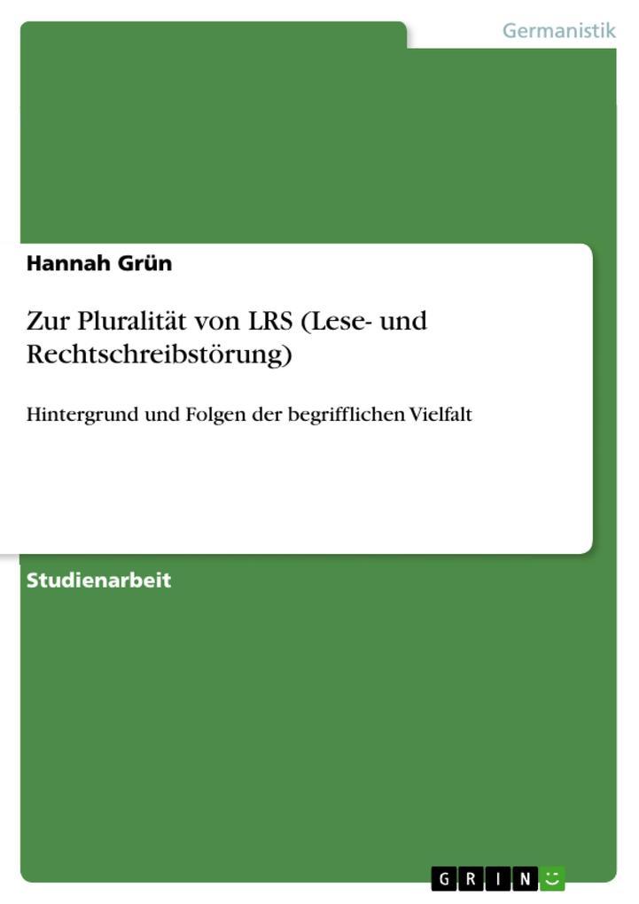 Zur Pluralität von LRS (Lese- und Rechtschreibstörung).pdf