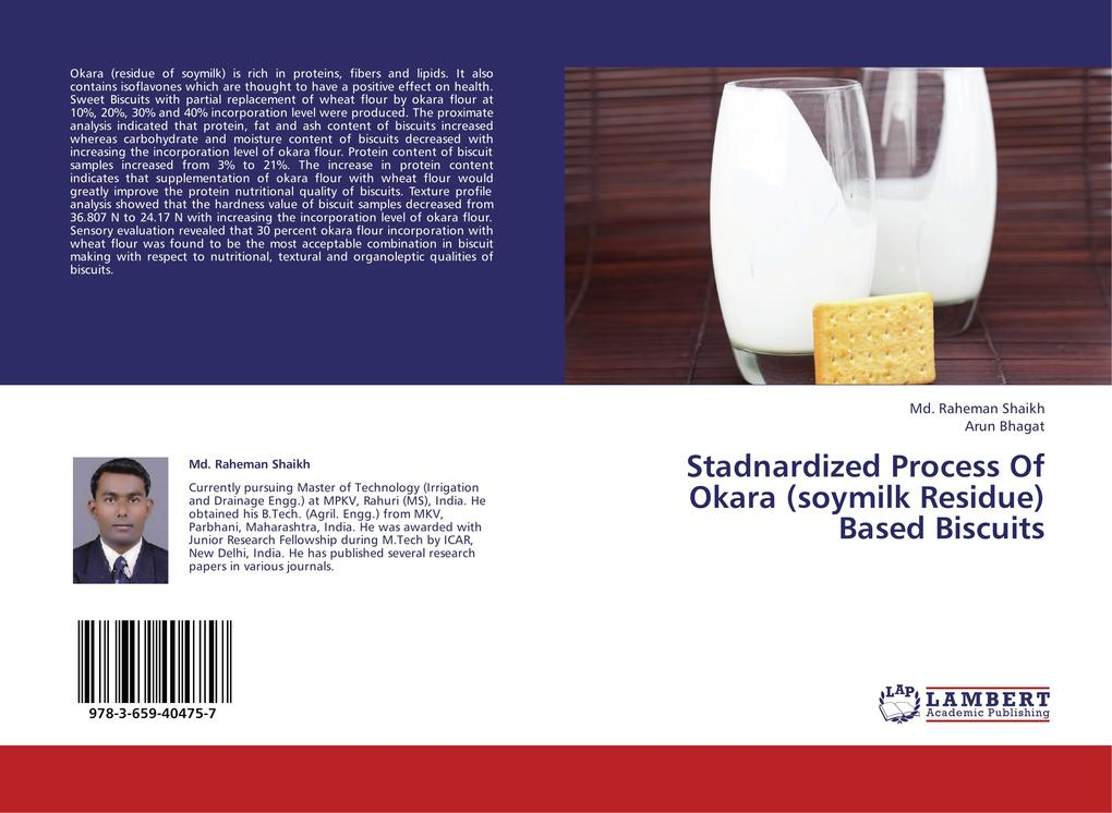Stadnardized Process Of Okara (soymilk Residue) Based Biscuits.pdf