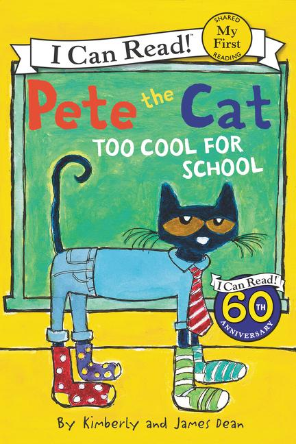 Pete the Cat: Too Cool for School als Taschenbuch