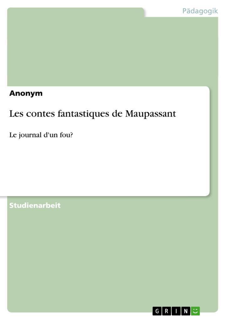 Les contes fantastiques de Maupassant.pdf