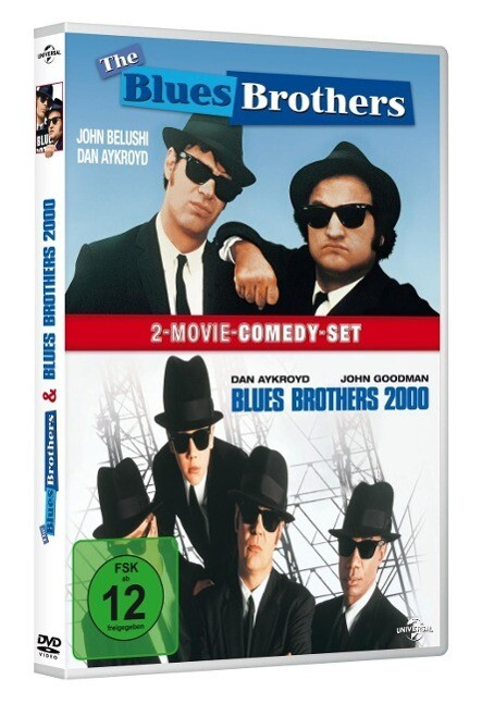 The Blues Brothers & Blues Brothers 2000 als DVD