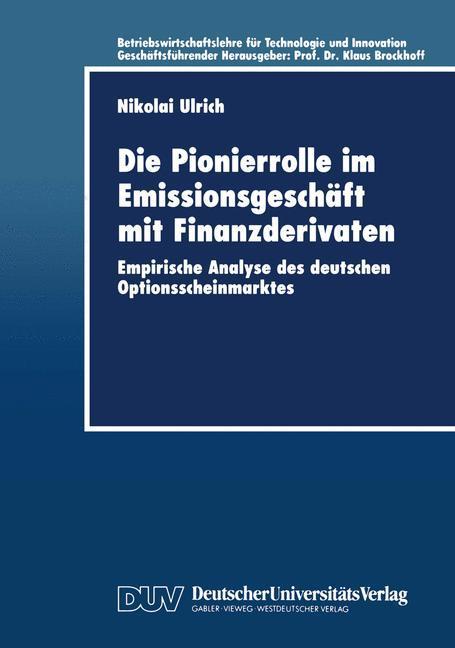 Die Pionierrolle im Emissionsgeschäft mit Finanzderivaten.pdf
