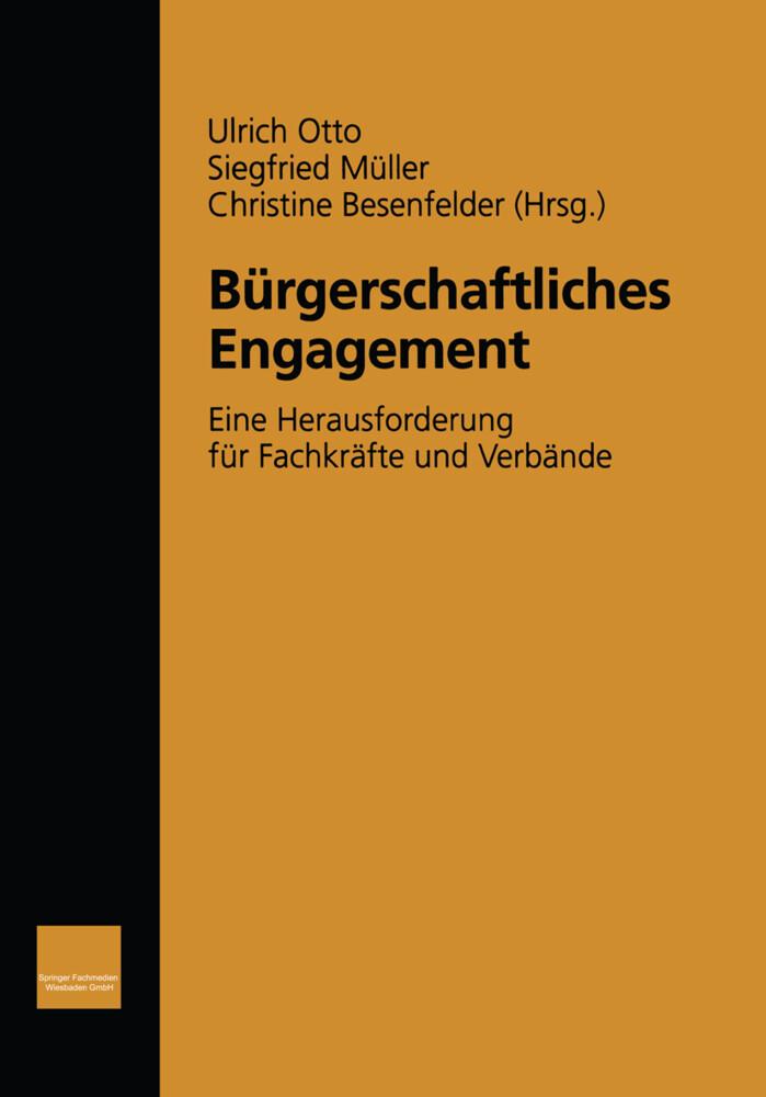 Bürgerschaftliches Engagement als Buch (kartoniert)