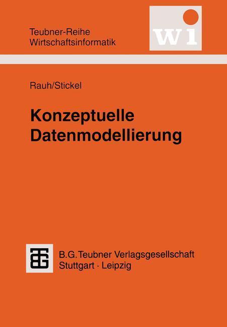 Konzeptuelle Datenmodellierung als Buch (kartoniert)