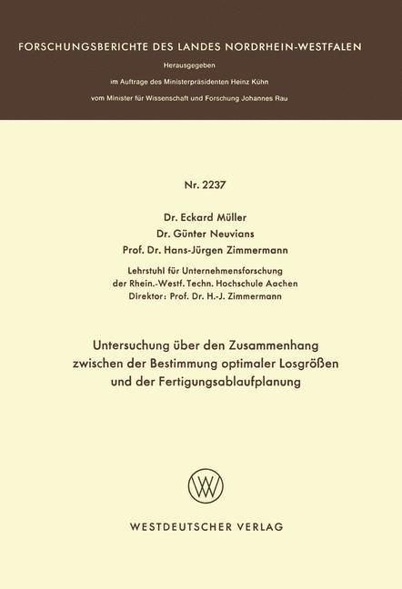 Untersuchung über den Zusammenhang zwischen der Bestimmung optimaler Losgrößen und der Fertigungsablaufplanung.pdf