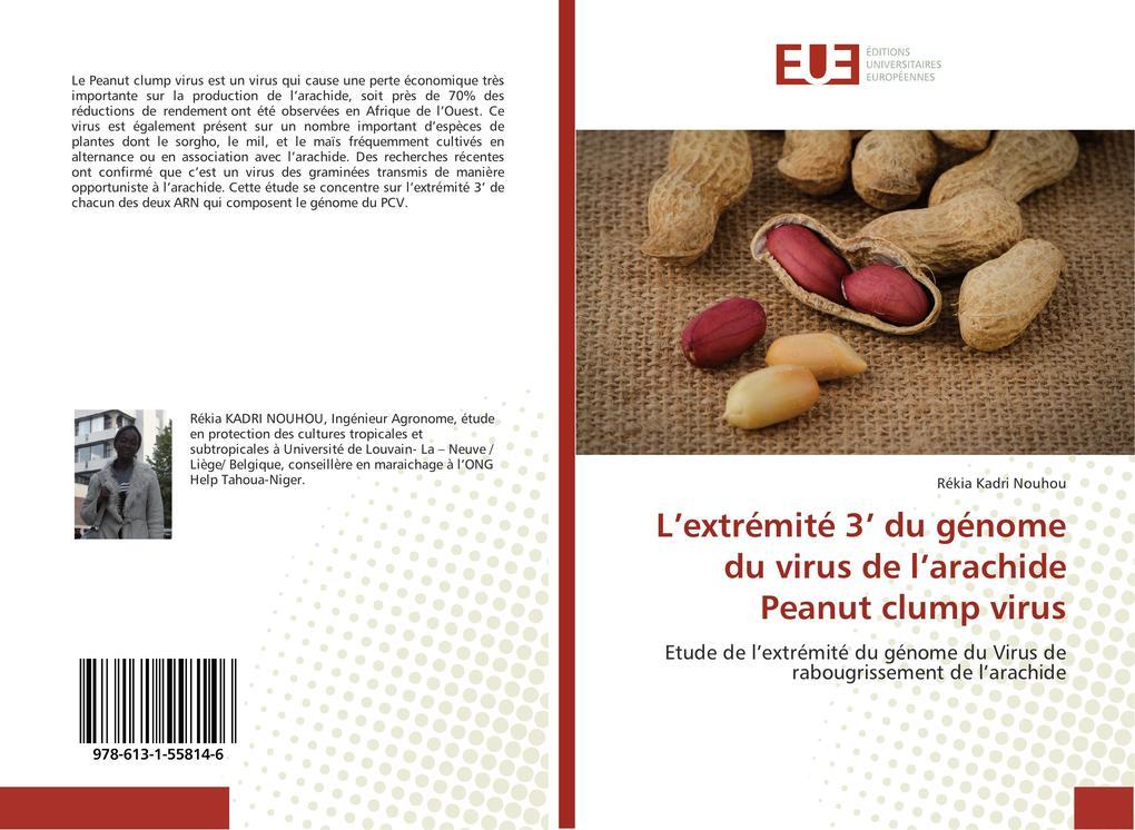 Lextrémité 3 du génome du virus de larachide Peanut clump virus.pdf