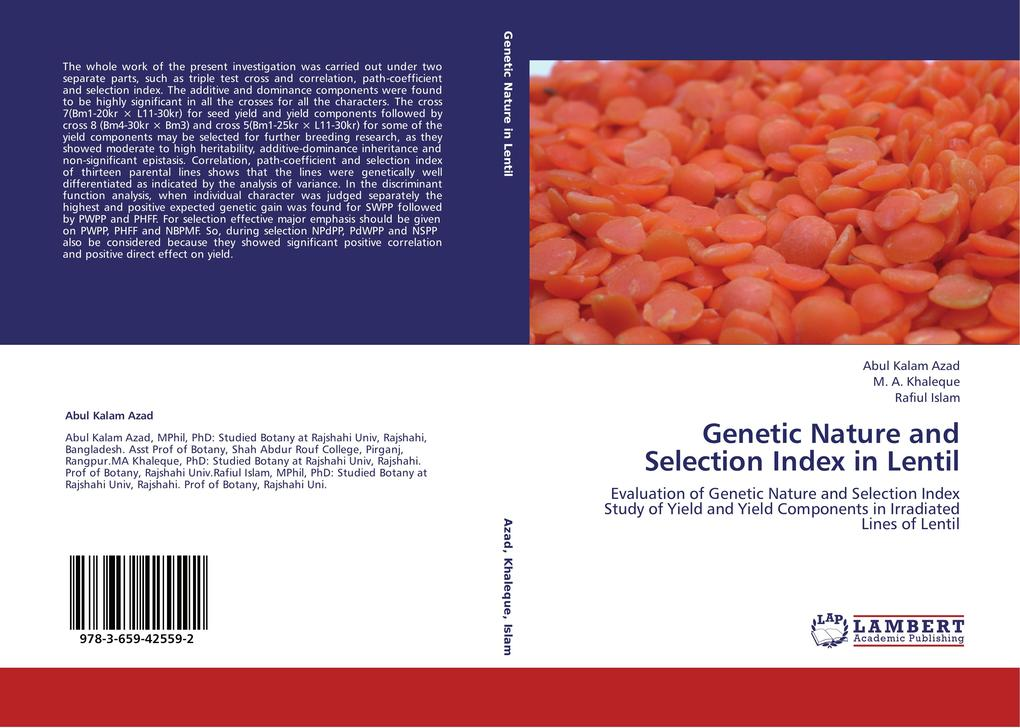 Genetic Nature and Selection Index in Lentil.pdf