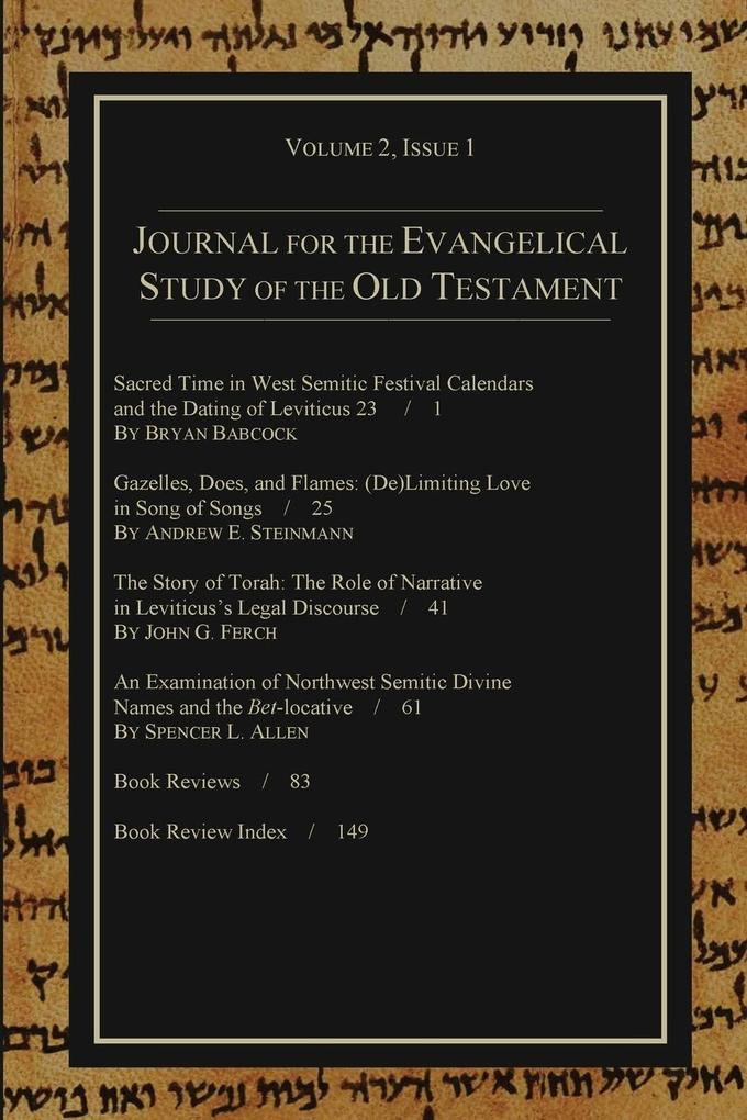Journal for the Evangelical Study of the Old Testament, 2.1.pdf