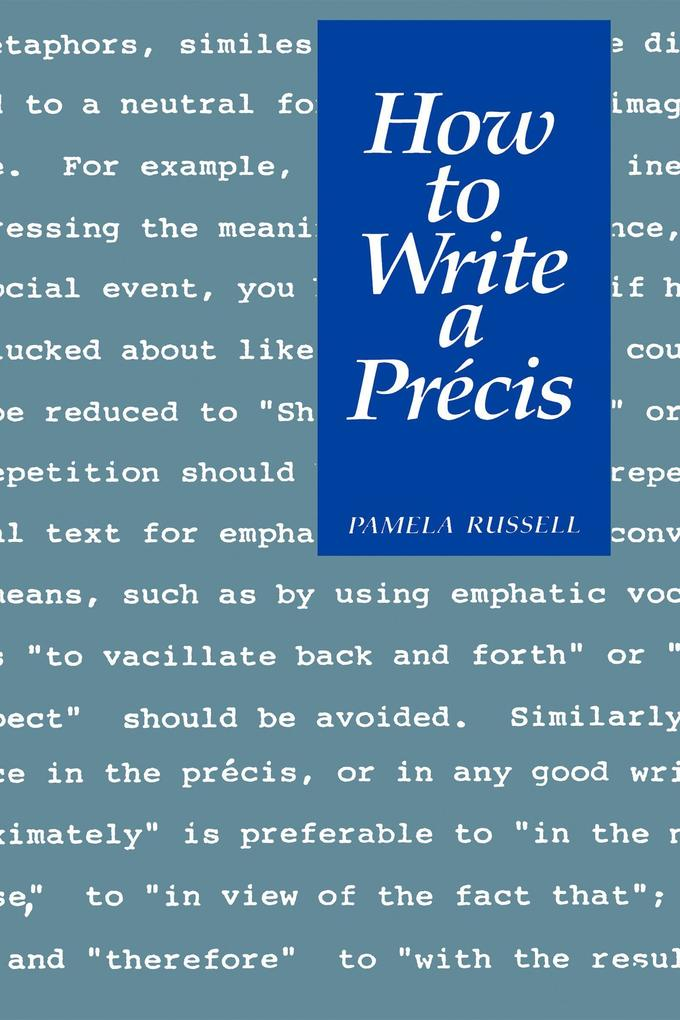 How to Write a Precis.pdf