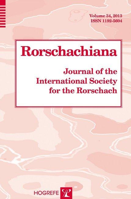 Rorschachiana. Yearbook of the International Rorschach Society / Rorschachiana.pdf