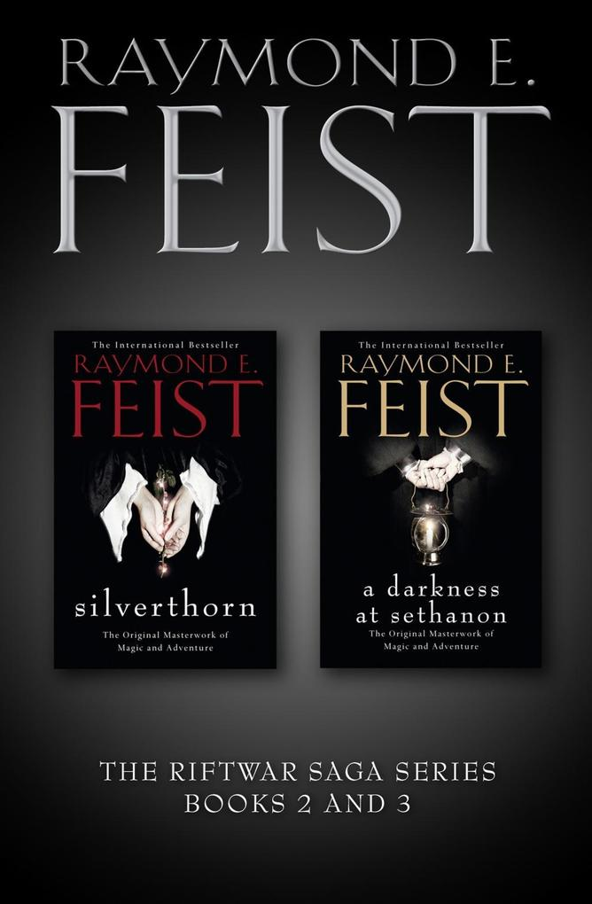 The Riftwar Saga Series Books 2 and 3: Silverthorn, A Darkness at Sethanon.pdf