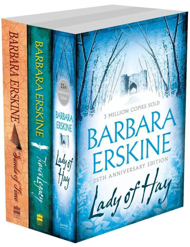 Barbara Erskine 3-Book Collection: Lady of Hay, Times Legacy, Sands of Time.pdf