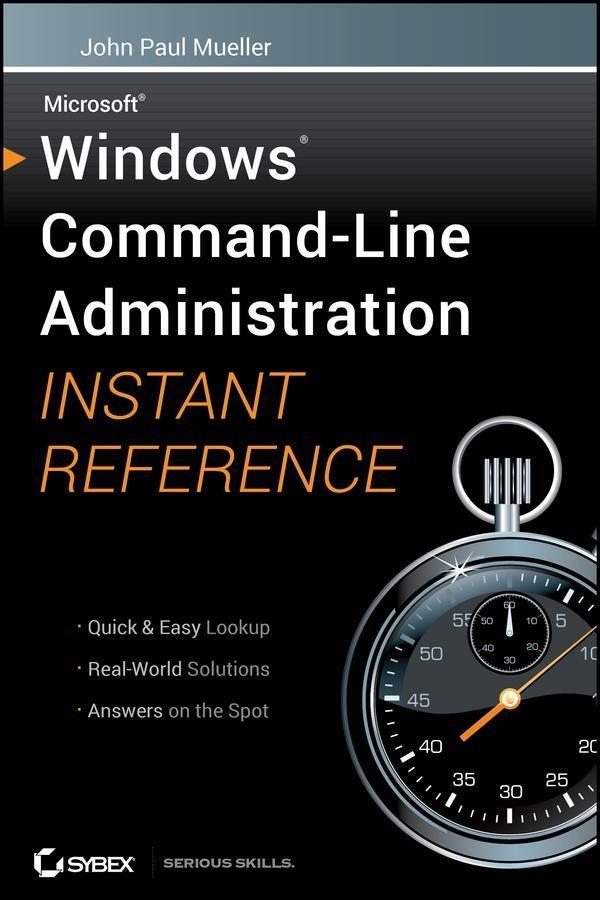 Windows Command Line Administration Instant Reference.pdf
