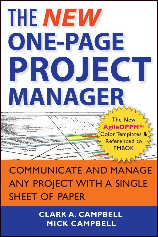 The New One-Page Project Manager.pdf