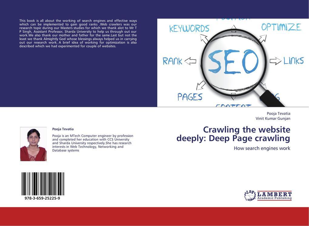 Crawling the website deeply: Deep Page crawling als Buch (kartoniert)