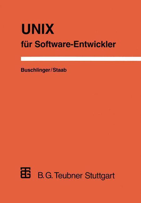 UNIX für Software-Entwickler als Buch (gebunden)