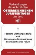 18. Österreichischer Juristentag 2012