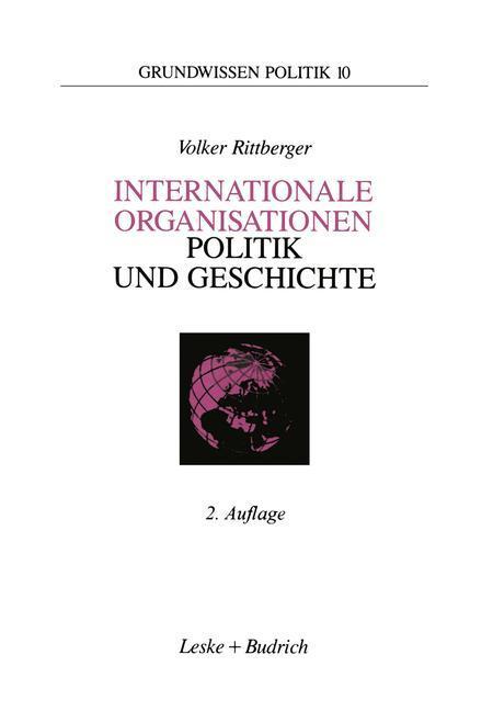Internationale Organisationen - Politik und Geschichte als Buch (kartoniert)