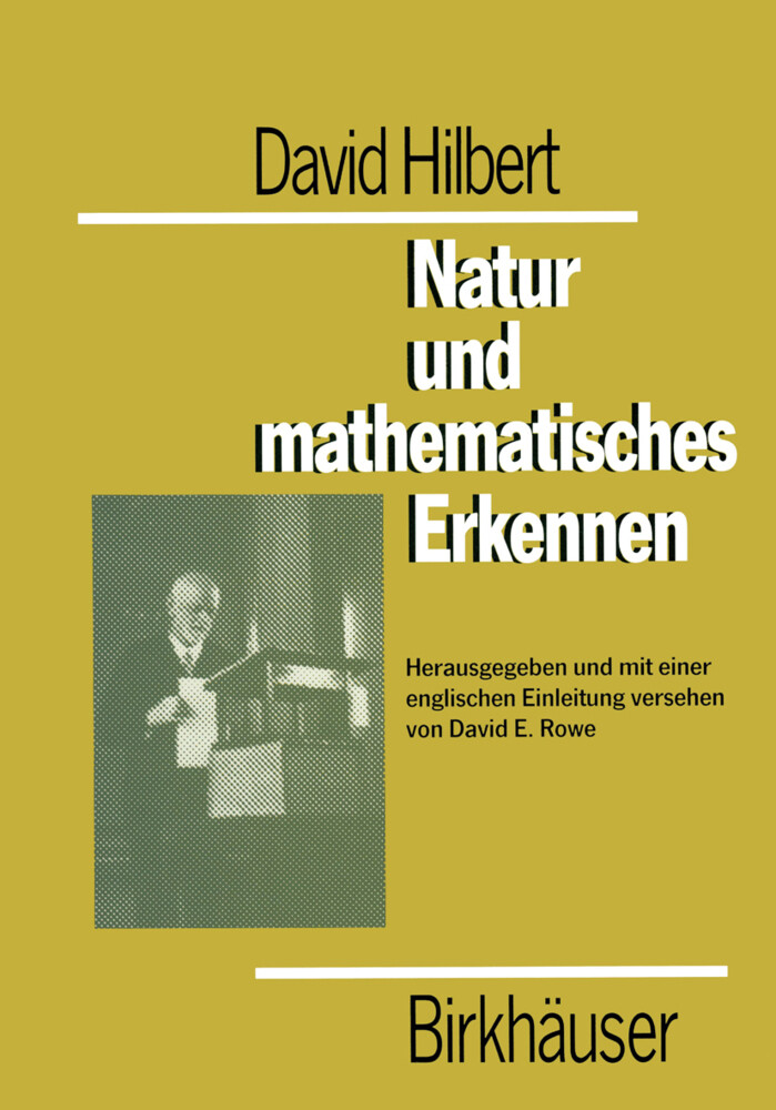 David Hilbert Natur und mathematisches Erkennen als Buch (kartoniert)