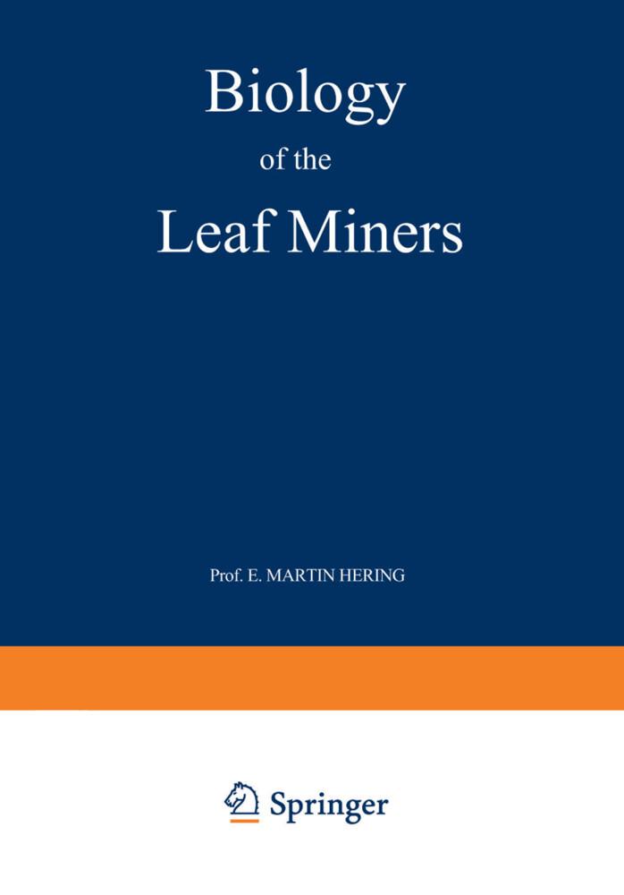 Biology of the Leaf Miners als Buch (kartoniert)