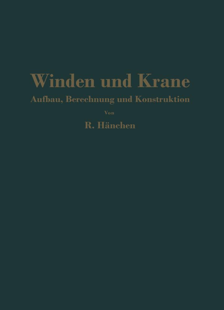Winden und Krane als Buch (kartoniert)