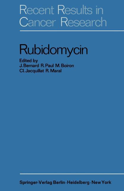 Rubidomycin als Buch (gebunden)