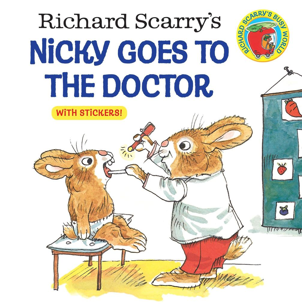 Richard Scarry's Nicky Goes to the Doctor als Taschenbuch