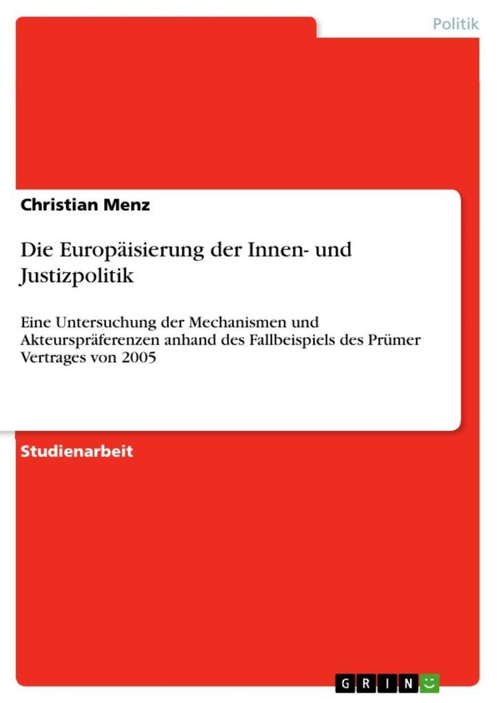 Die Europäisierung der Innen- und Justizpolitik.pdf