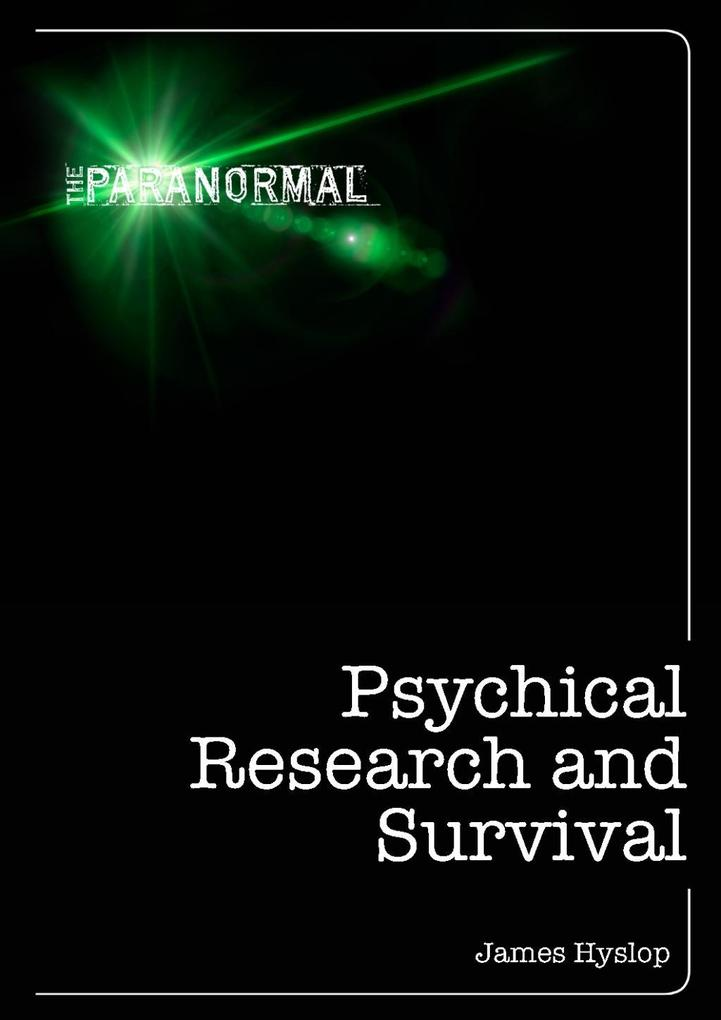 Psychical Research and Survival als eBook epub