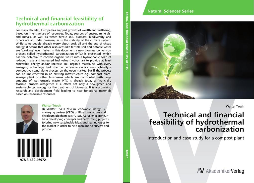 Technical and financial feasibility of hydrothermal carbonization als Buch (kartoniert)