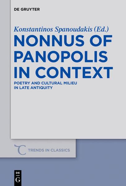 Nonnus of Panopolis in Context als Buch (gebunden)