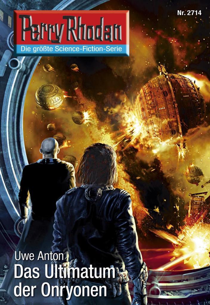 Perry Rhodan 2714: Das Ultimatum der Onryonen als eBook epub