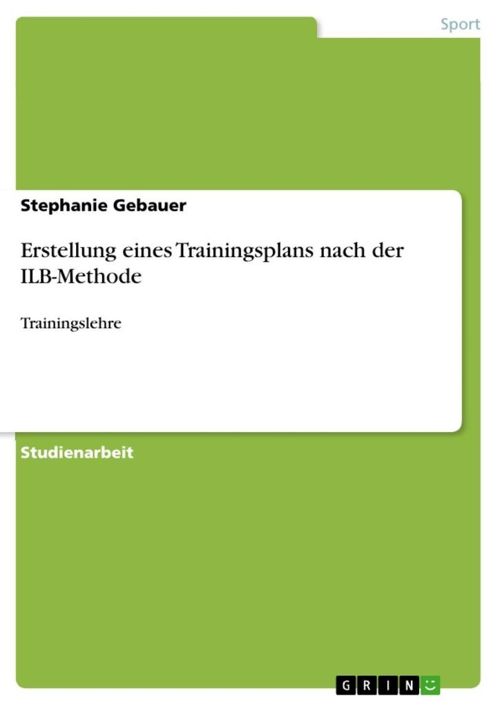 Erstellung eines Trainingsplan nach der ILB-Methode.pdf