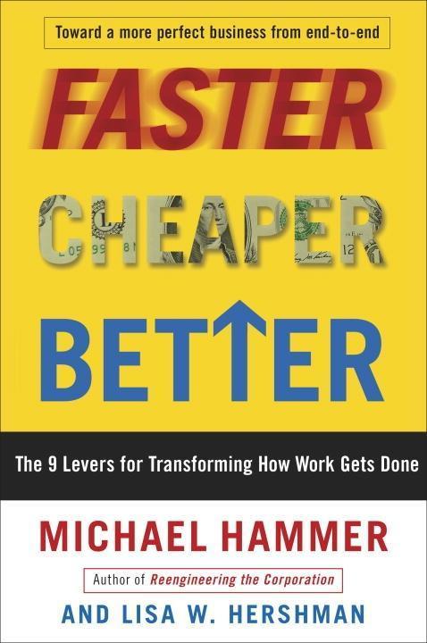 Faster Cheaper Better als eBook epub
