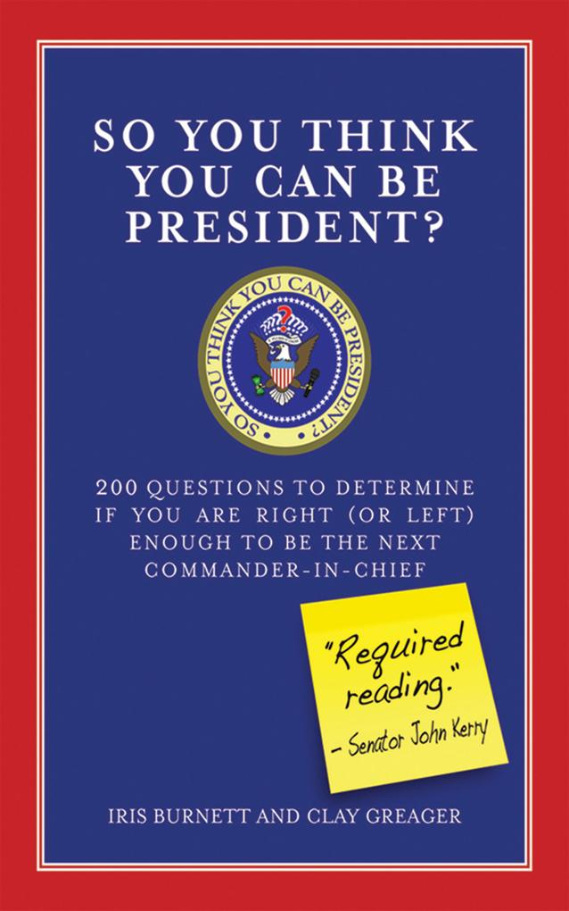 So You Think You Can Be President?.pdf