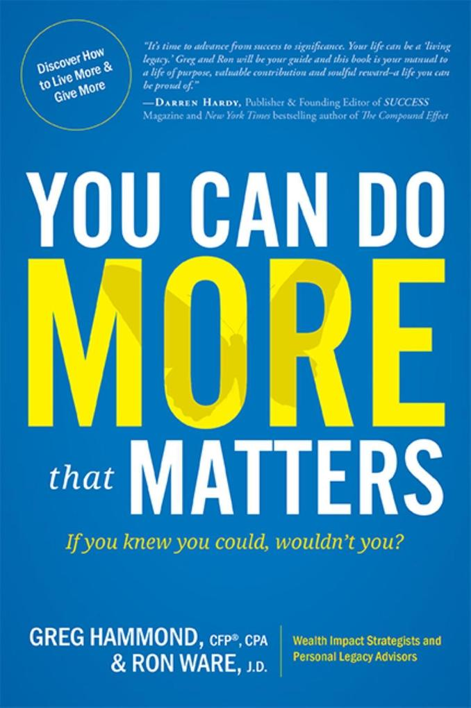 You Can Do More That Matters: If You Knew You Could, Wouldnt You?.pdf