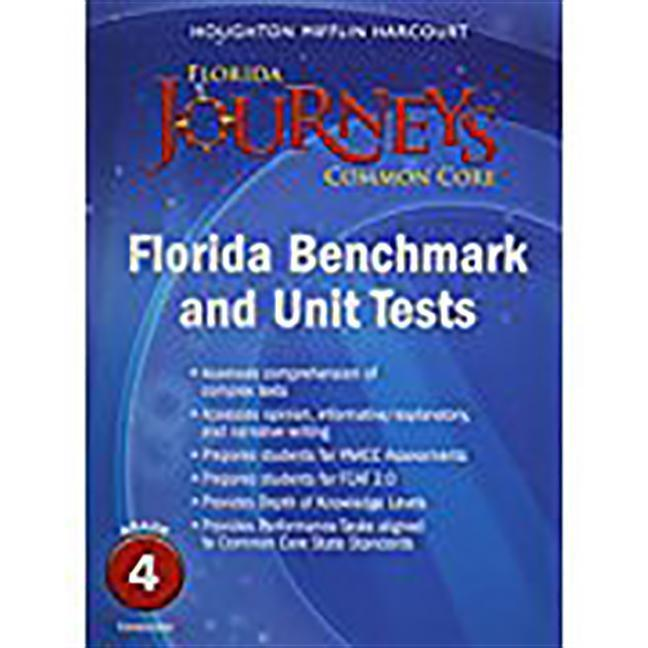 Houghton Mifflin Harcourt Journeys: Common Core Benchmark and Unit Tests Consumable Grade 4.pdf