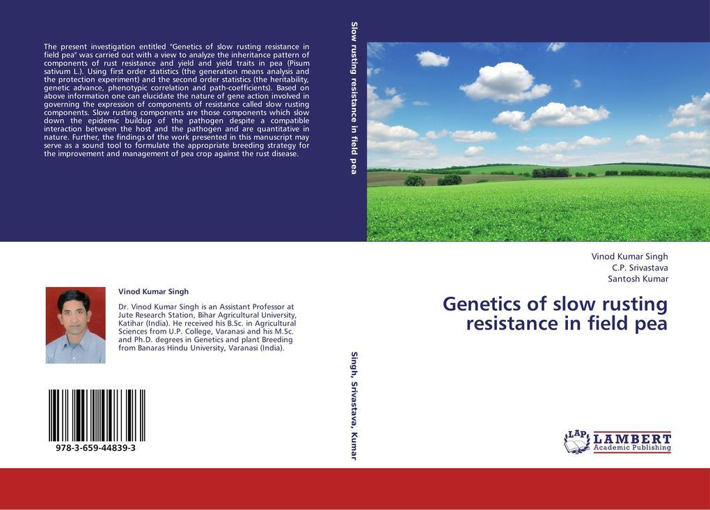 Genetics of slow rusting resistance in field pea.pdf