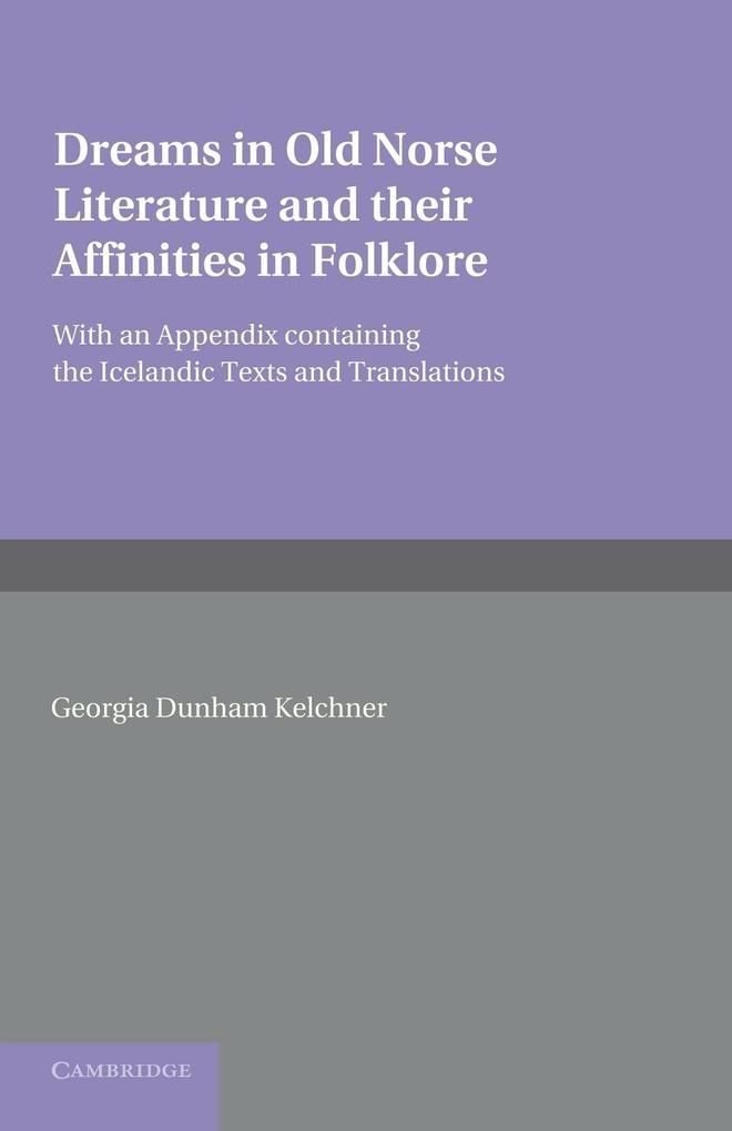 Dreams in Old Norse Literature and Their Affinities in Folklore.pdf