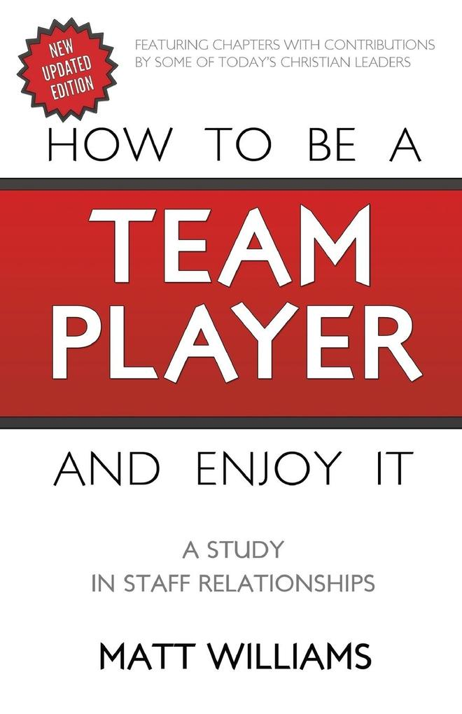 How to Be Team Player and Enjoy It: A Study in Staff Relationships.pdf