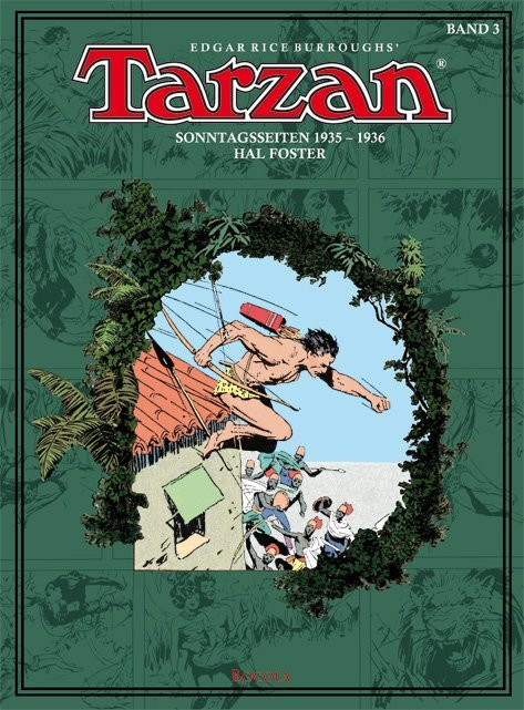 Tarzan Sonntagsseiten 03. 1935 - 1936 als Buch (gebunden)