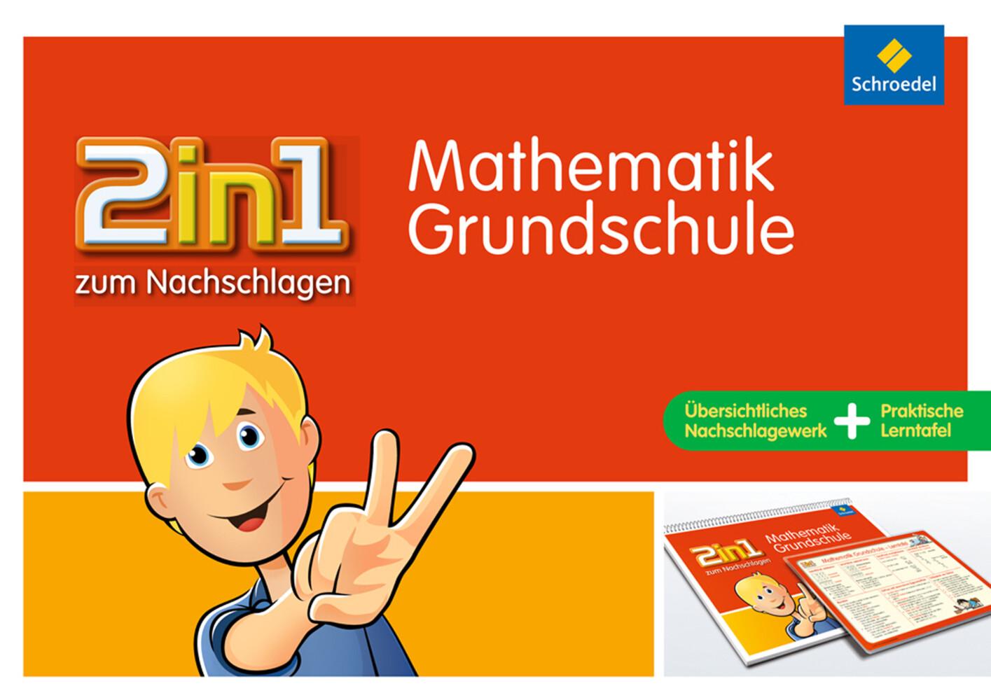 2 in 1 zum Nachschlagen. Mathematik. Grundschule als Buch (kartoniert)