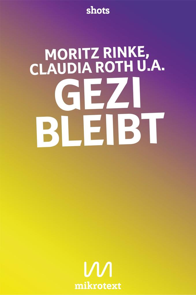 Gezi bleibt als eBook epub