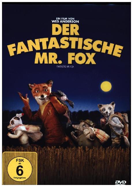 Der Fantastische Mr. Fox als DVD