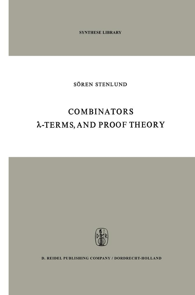 Combinators, -Terms and Proof Theory.pdf
